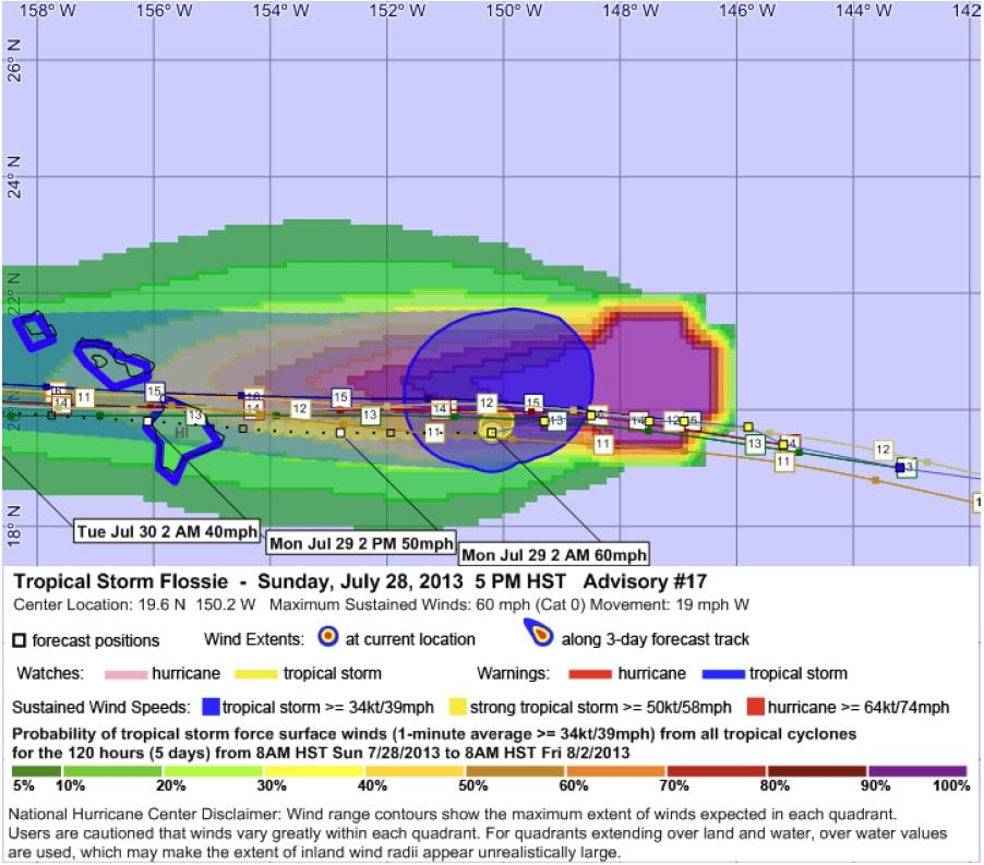 Tropical Storm Flossie 17